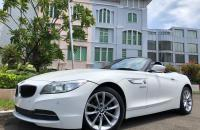 BMW Z4 CABRIOLET 2.0 S DRIVE TWIN TURBO 2014 FACELIFT WHITE ON RED ATPM